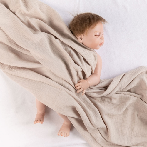 Light weight gorgeous comfortable organic cotton baby wrap swaddle blanket